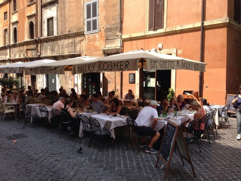 The Jewish Getto, Rome's Food Paradise