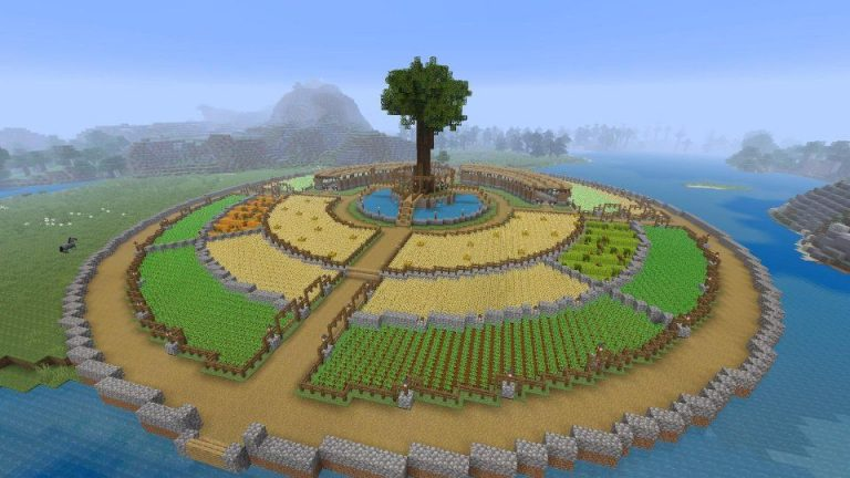 Circle in Minecraft: Simple Clues